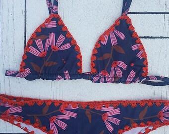 Handmadre crochet bikini