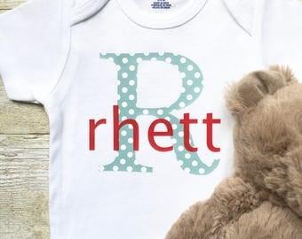 Monogrammed Onesie,Personalized Baby Onesie,Custom Baby Clothes,Newborn Clothes,Personalized Boy Shirt,Newborn Onesie,Monogrammed Baby Shirt