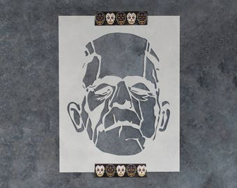 Frankenstein Stencil - Reusable DIY Craft Stencils of Frankenstein