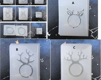 Ring Mold,resin mold,mold,uv resin mold,clay mold, silicon mold,mould,jewelry mold