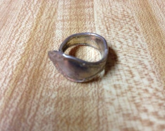 Vintage Rogers Silver Spoon Ring