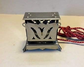 1920s Excel Toastoy Electric Toy Toaster in Working Condition