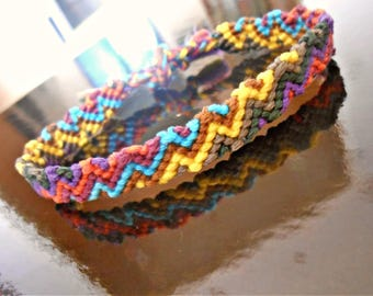 Brazilian 8 colors to tie bracelet