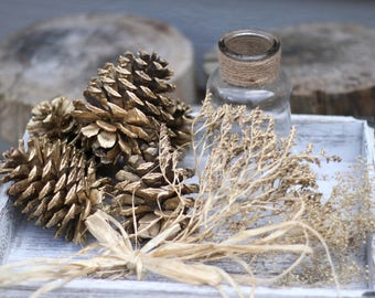 Christmas Decor - Pine Cones - Wedding Decor - Natural Embellishment - Holiday Crafts - Nature Inspired Crafts