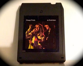 "Cheap Trick ""Live at Budokan"" 8 Track cassette, Epic Records, 1978"