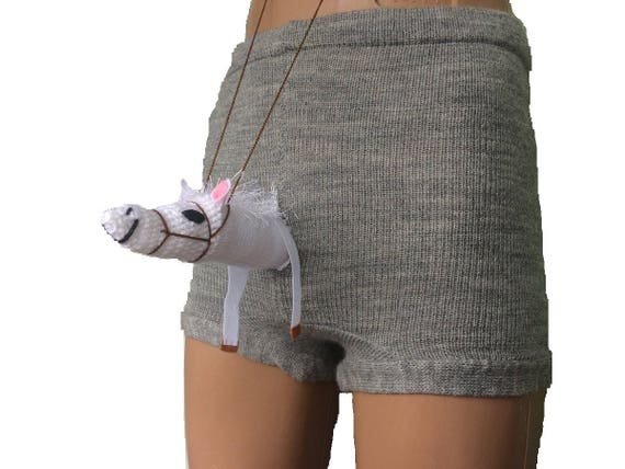 Horse Boxers Funny Underwear Knit Shorts Knit Boxers Sexy