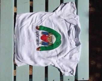 Downward-facing Gnome Super-soft Organic Cotton Baby T-Shirt