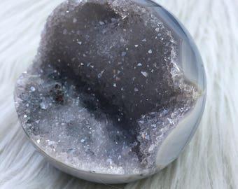 Druzy Geode Sphere