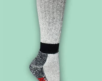 High Calf Alpaca Sock