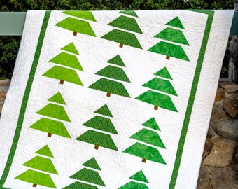 Tree Line Quilt Pattern