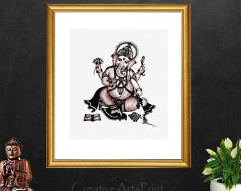 Ganesh, Ganesha Statue, Ganesha, Ganesha Prints, Elephant, Elephant Prints, Ganesha Painting, elephant Statue, Ganesh Decor, Ganesh Art