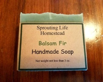 Balsam Fir Handmade Soap