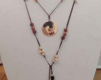 Mermaid Lariat Necklace