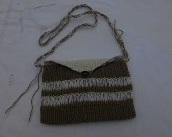 knit lining fabric Crossbody bag