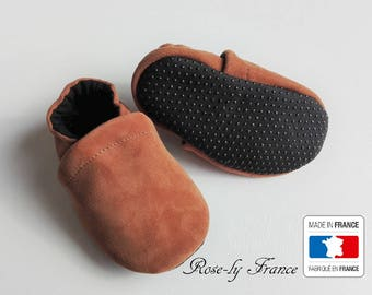 Baby (baby shoes) non slip soles and leather shoes