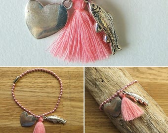 Bracelet ball chain ball chain 17469
