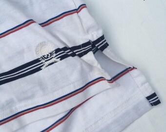 VTG Tommy Hilfiger striped polo shirt size M