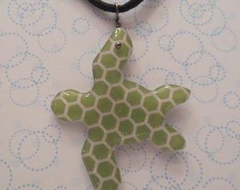Resin Sea Turtle Necklace