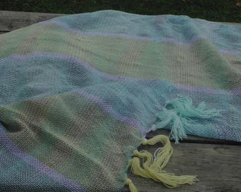 woven light material blanket