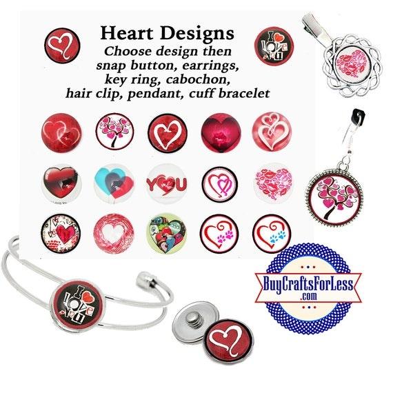 HANDMaDE Heart Designs, 17 Pretty Styles, CHOOSE BaSE +FREE SHIPPING & Discounts*
