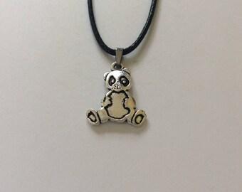 Children's Panda necklace / children's jewellery / panda jewellery / animal necklace / animal jewellery / animal lover gift