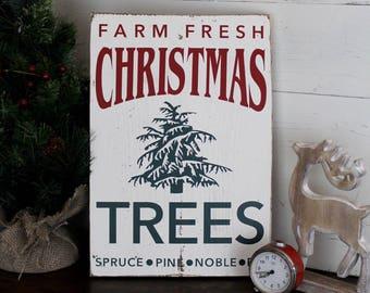 Christmas Tree Sign, Christmas Sign, Christmas Decoration, Rustic Christmas Sign, Christmas Decor, Christmas Tree,
