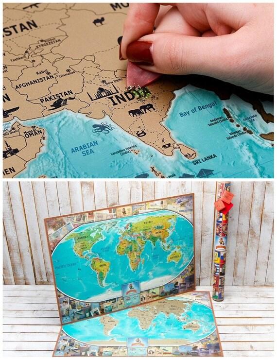 Scratch Off Map United States Scratch Off US Map Scratch Off - Us scratch off map