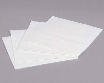 200 White Linen Feel Disposable Napkin, Wedding Napkins, Dinner Napkin, Wedding Supplies, Party Supplies, Napkins, Wedding, Party