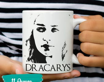 Game Thrones Gift Game Thrones Dragons Game Thrones Mug Game Thrones Dany Khaleesi Dragon Gift GOT Dragon Gift Game Thrones Dracary