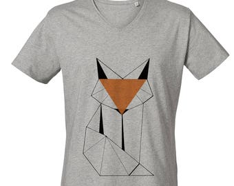 Fox V Neck T-shirt