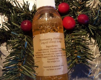 Cranberry Mistletoe Liquid Hand Soap