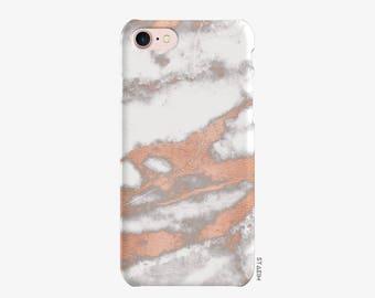 Rose Marble Phone Case,Metallic Rose Gold Reflective, iphone 6 case, 6s,6sPlus,iphone 6 plus case, iphone 7 case, iphone 7 plus case, gift