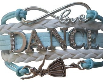 Dance Gift -Dance Bracelet – Dance Gift -Dance Recital Gift- Dancing - Ballet Bracelet Perfect for Dancers, Dance Coaches & Dance Team Gifts