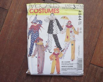 Pattern / Sewing Pattern - Mc CALL'S - Costumes - Clown - Be A Clown