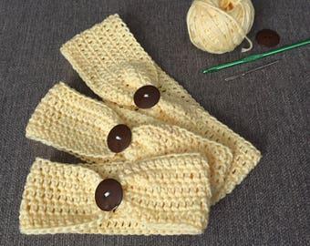 Cotton Canary Headband
