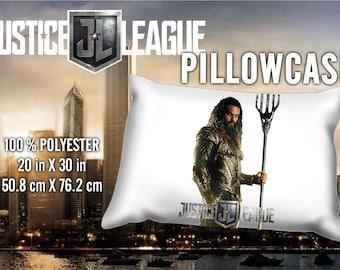 Justice League AquaMan  Jason Mamoa Pillowcase