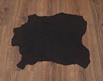 Black lambskin leather velvet finish (9302827)