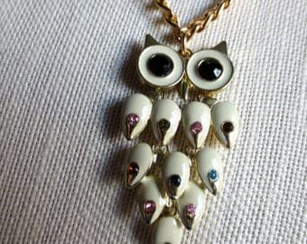Beautiful Owl Pendant Necklace