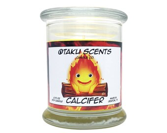 Calcifer - 8.75 oz Scented Soy Candle - Howl's Moving Castle