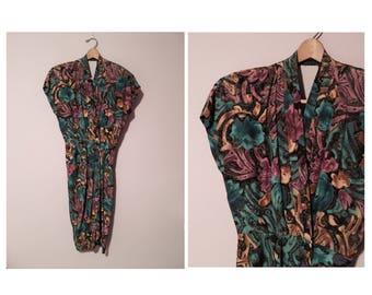 Vintage 90's Wrap Style Dress