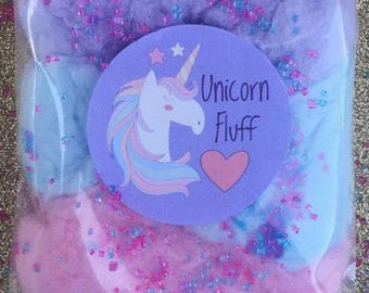 Unicorn Cotton Candy Favors (24) Cotton Candy Bags   Goodie Bags   Cotton Candy Gifts   Cotton Candy Favors   Fluff   Unicorn Theme