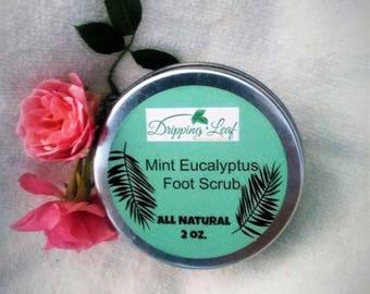 Mint Eucalyptus Foot Scrub
