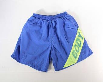 Vintage body glove men's swimming trunks