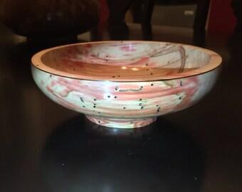 """Flame Box Elder Bowl (8""""x3"""")"""
