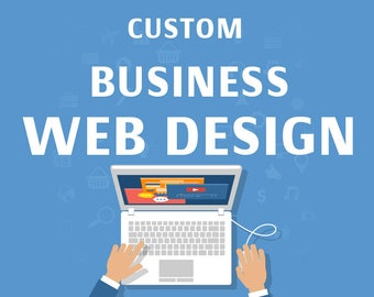 Custom Business Website, business website, professional website, portfolio web design, online shop site, shopping website, boutique website