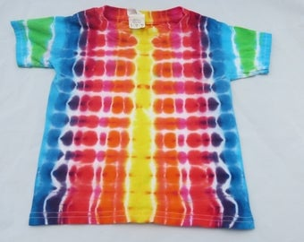 Rainbow Tie Dye T Shirt- Toddler-3T