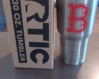 RTIC Boston Redsox 30 oz tumbler for sale. Free keychain!!