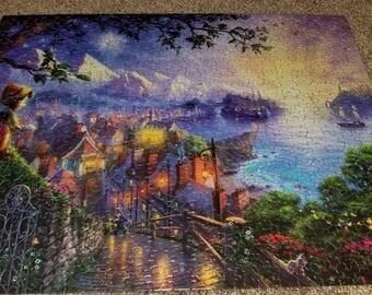 Pinocchio Thomas Kinkade puzzle