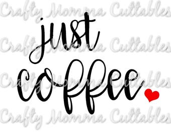 But first coffee SVG file / Just coffee SVG / Coffee first / Coffee before Talkie file / But coffee first // Coffee and Jesus
