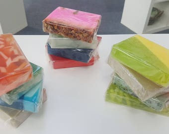 2x Handmade Soap Slices.